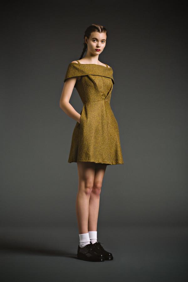 Eliza Faulkner Babette Dress - Tweed