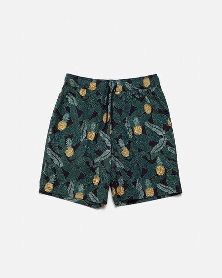 Poplin & Co. Shorts - Banana Pineapple Print