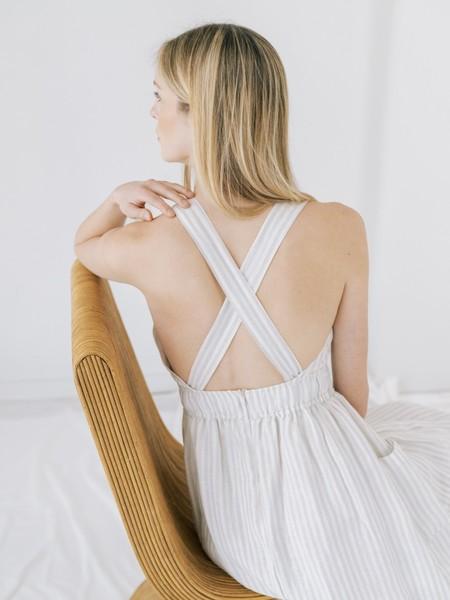 LAUDE the LabelFlora Dress - Sailor Stripe