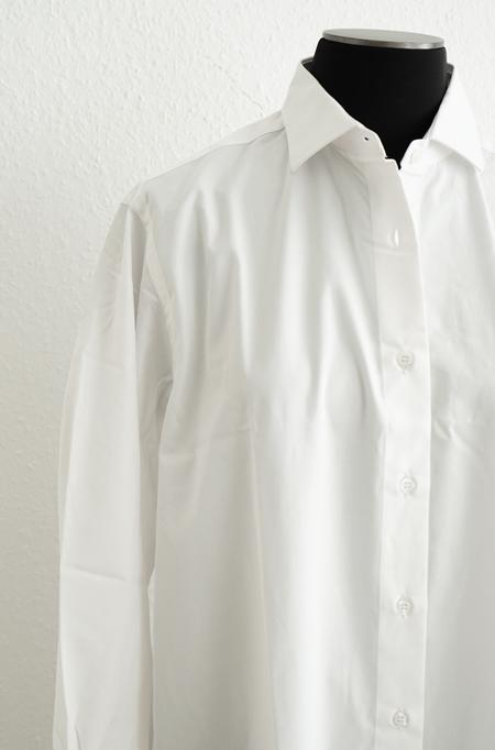 Baserange Ole Shirt Dress - White