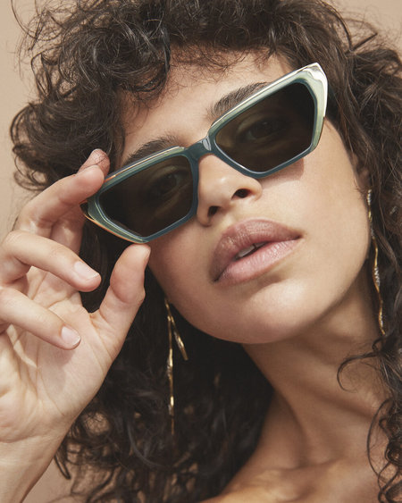 CARLA COLOUR LANDO eyewear - moss