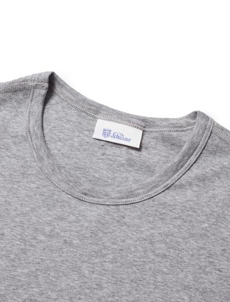 Schiesser Mens Shirt 1/2 Ludwig - Grey