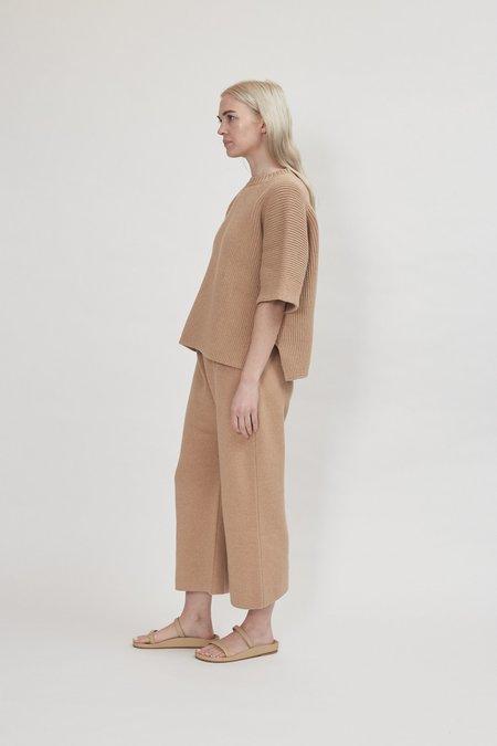 Lauren Manoogian Interlock Wide Pullover - Tanin