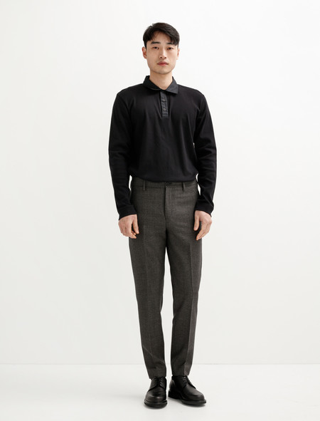 Acne Studios Stan Trouser Check Grey/Black