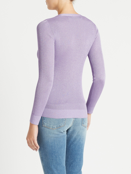 IRO Inaba Sweater - shimmering purple