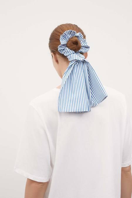 Kowtow Bow Scrunchie - stripe