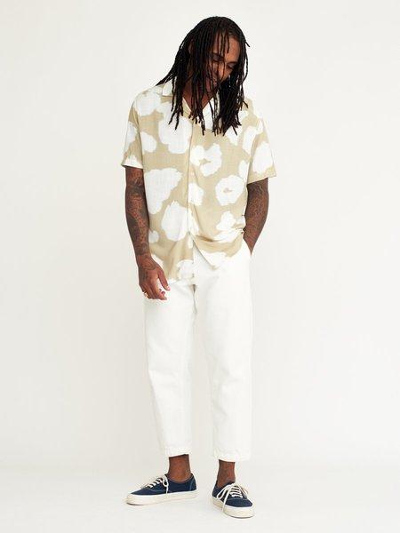 Wax London Didcot Shirt - Sage Poppy
