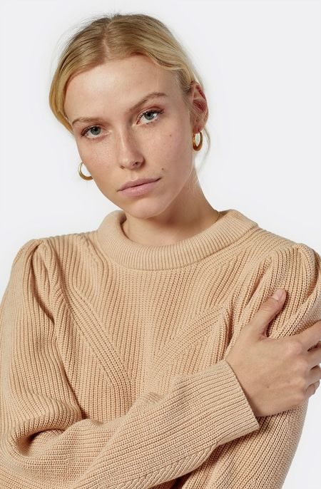 Joie Harlequin Sweater - Soft Beige