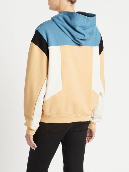 IRO Susane Sweatshirt - Blue/Cream/Black