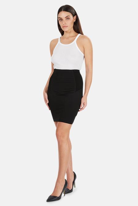 Alexander Wang Ponti Skirt - Black