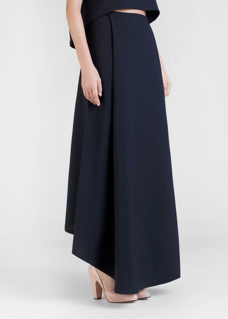 Kaarem Waterfall Maxi Skirt