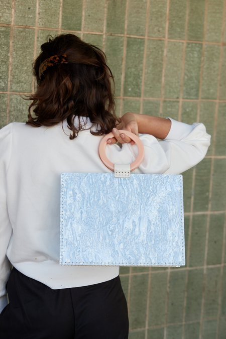 Valet Studio Sienna Bag - Sky Blue