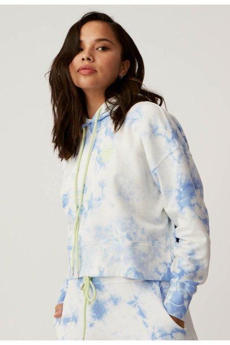 Daydreamer Sunny People Shrunken Hoodie sweater - Periwinkle Cloud