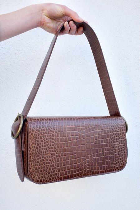 St. Agni Bianca Shoulder Bag - Antique Tan