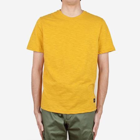 Outclass Slub Short-Sleeve T-Shirt - Turmeric