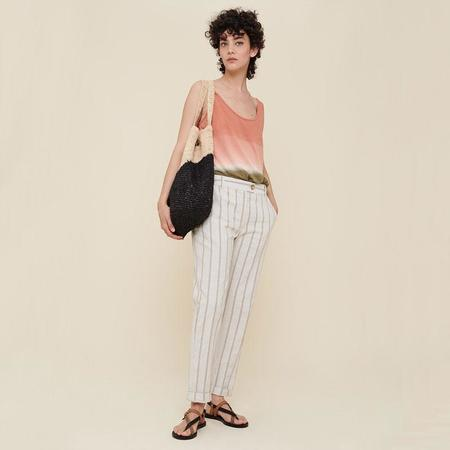 Acote High waist striped pants - Rayures Roses