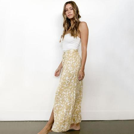 Knot Sisters Dixie skirt - Gold