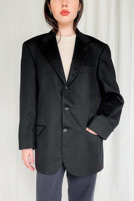 Vintage Cashmere Blazer - black