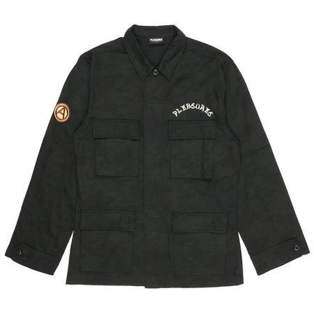 PLEASURES Rhythm Bdu Jacket - Black