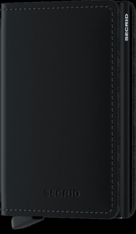 Secrid Slim wallet - Matte Black