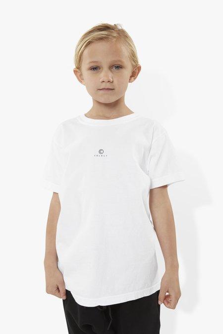 kids The Celect C Logo Kids T- Shirt - white