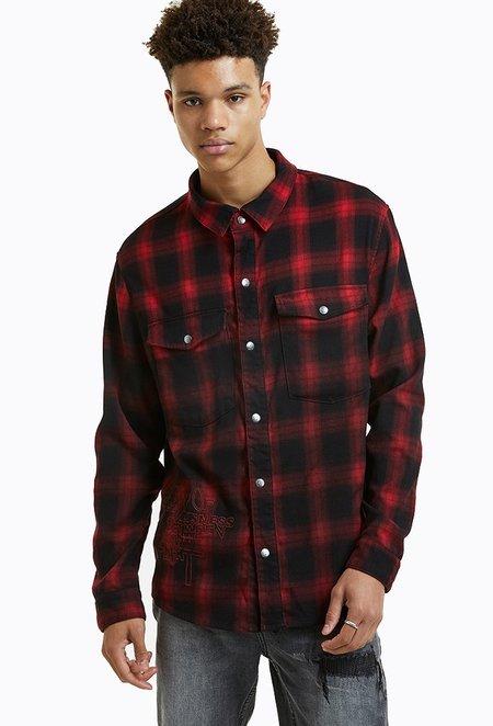 Ksubi Consciousness Shirt - Red Plaid