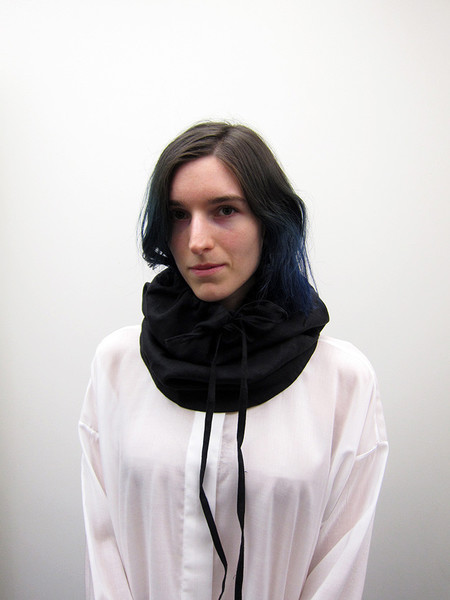 69 Snood Neck Piece, Black