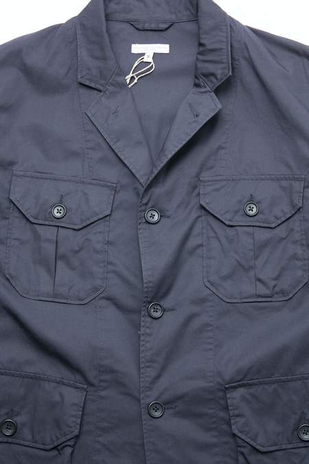 Engineered Garments Folk Jacket - Dk. Navy High Count Twill