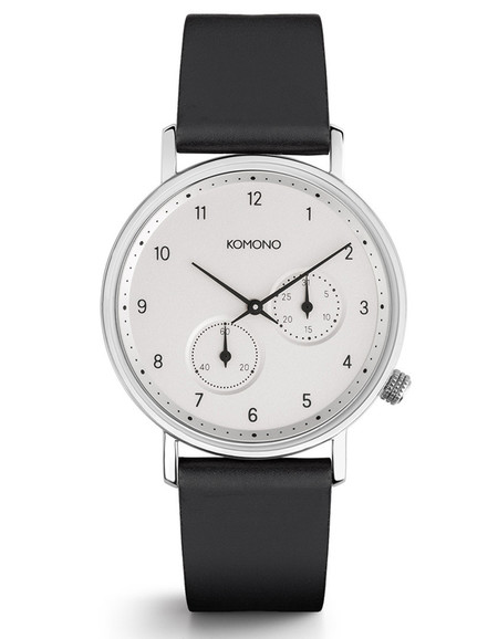 Komono Walther Crafted Watch Nero