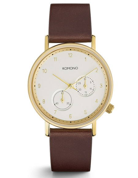 Komono Walther Crafted Watch Tobacco