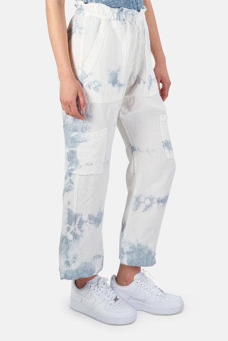 NSF Shailey Harem Pants - Bright Paris Wash