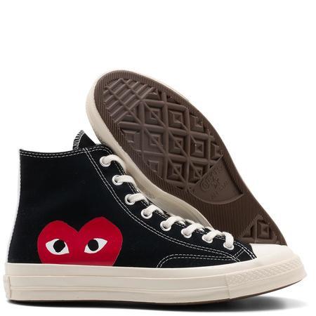 Converse x COMME des GARÇONS PLAY Chuck Taylor Hi Sneaker - Black