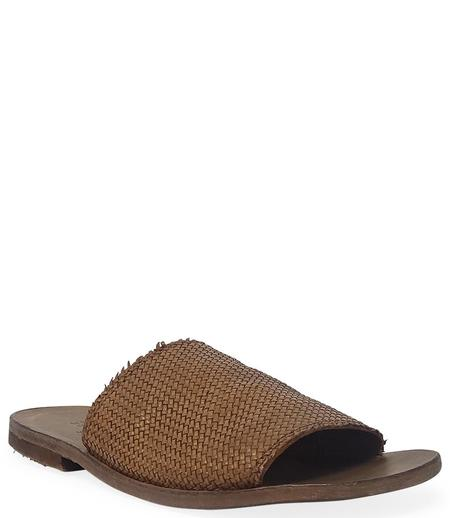 Moma Leather Slip On Loafer - Tan