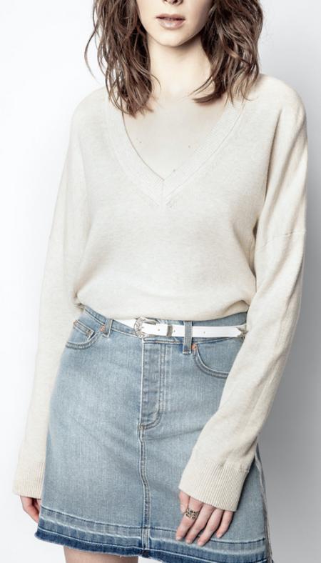Zadig & Voltaire Brumy Sweater - Ecru