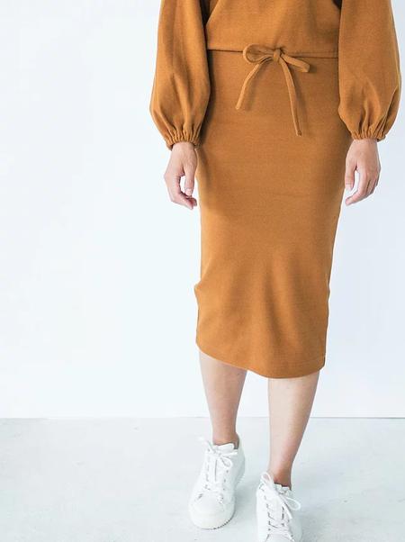 Faures Papineau Skirt - Caramel