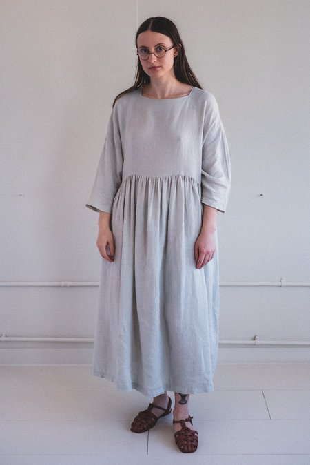 Black Crane Tradi Dress - Sky