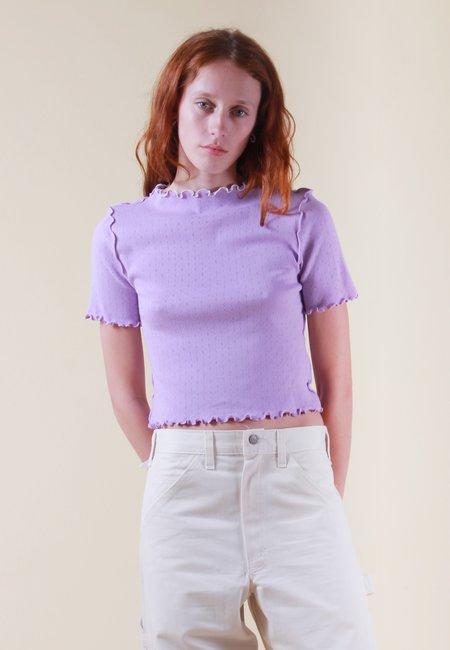 NEUL Wave Edges Dolce Vita T-Shirt - viola