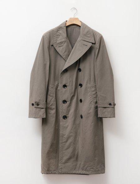 Unisex Lemaire Trench Coat - Dark Ash