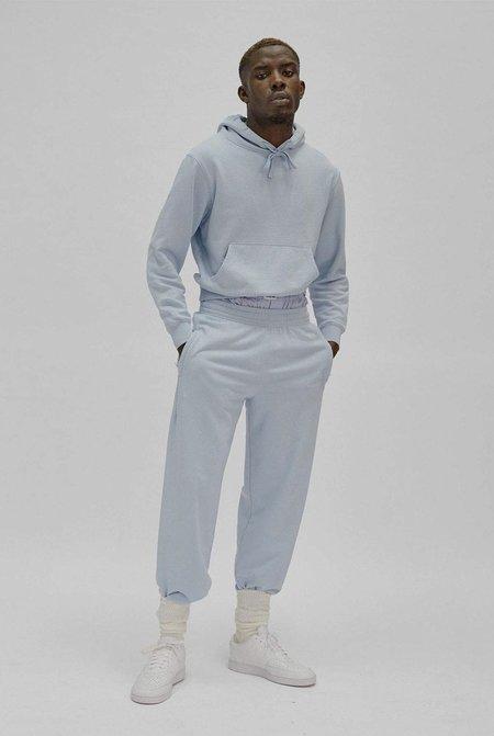 Unisex LES GIRLS LES BOYS slim shrunke hoodie - cashmere blue