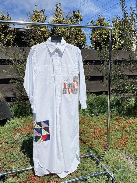 Carleen Long Roadtrip Shirtdress - White