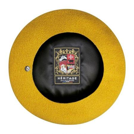 Laulhère Authentic beret - Curcuma