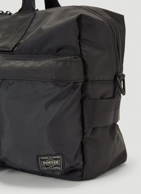 Porter-Yoshida & Co. FORCE 2-WAY DUFFLE BAG - BLACK