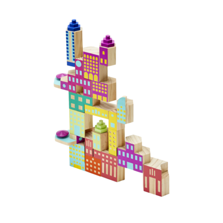 Areaware Blockitecture Mega Deco Set