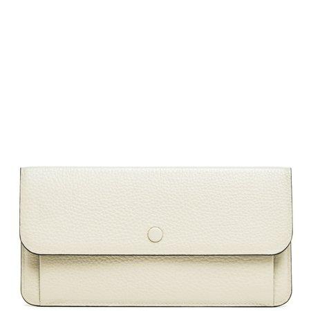 OAD Slim Wallet Clutch - Creme