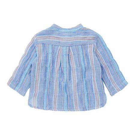 kids Bonton Baby Adriano Shirt - Blue