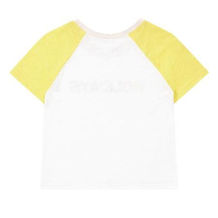 Kids Bonton Too Late Tee shirt - White