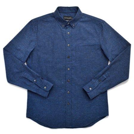 Outclass L/S Shirt - Navy Fleck