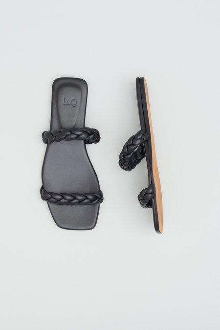 LOQ Sierra Sandals - Black