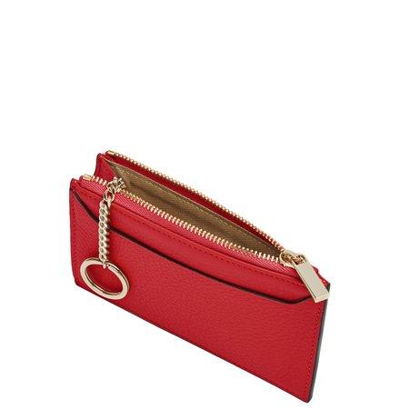 OAD Billy Zip Card Case bag - Rouge