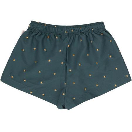 Kids Tinycottons Starfish Trunks - Ink Blue/Honey